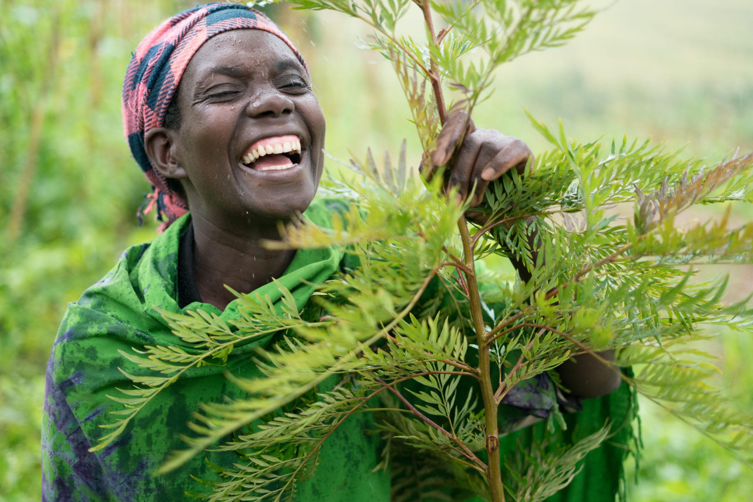 Marie Claire Kabaganwa. Photo Elin Larsson.